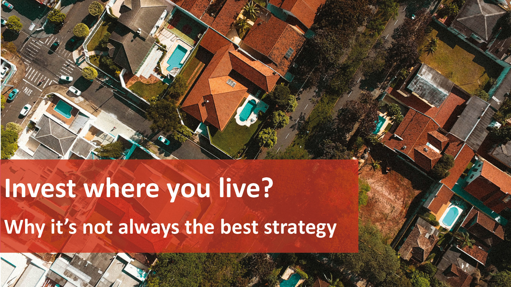 We Love Rentals Invest Where You Live