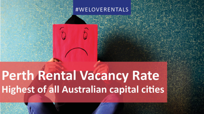 We Love Rentals Rental Vacancy Rate Perth Dec 2017