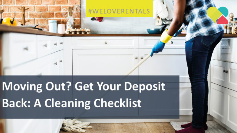 Get Your Deposit Back: A Cleaning Checklist