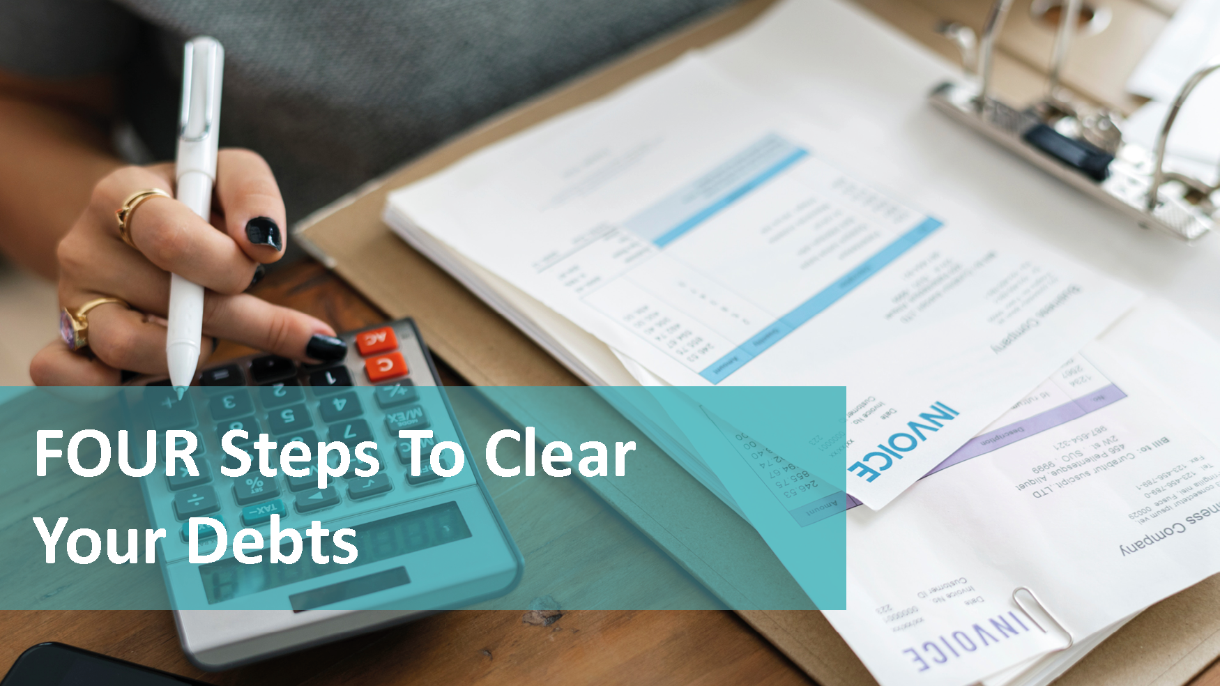 Four steps to clear your debt