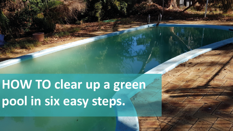 How to clear up a green pool in six easy steps
