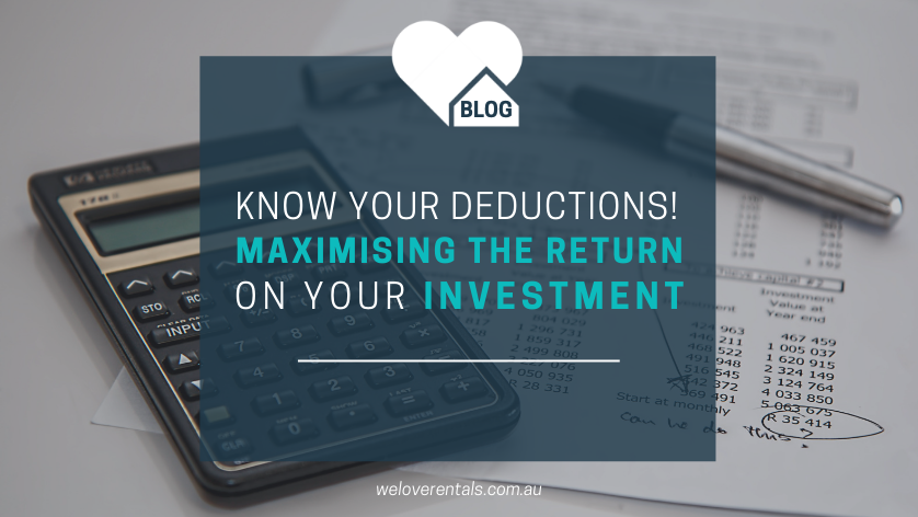 investment property deductions