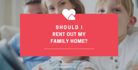 renting my home