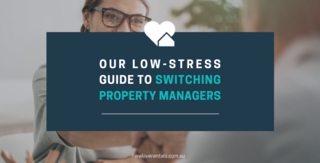 change property managers