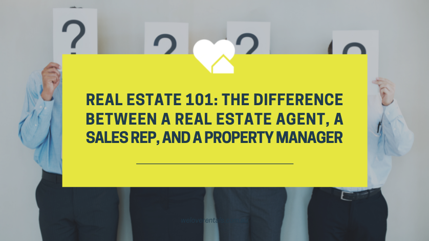 difference between real estate and property management