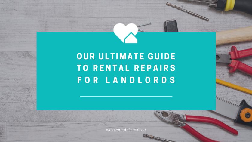 Landlord repairs responsibilities