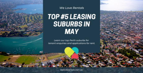 Top Leasing Suburbs in Perth May 2021