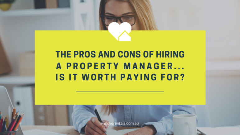 Pros and cons of rental property management