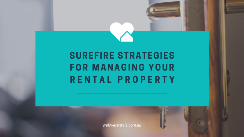 strategies for managing a rental property